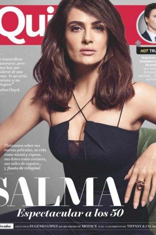 Salma Hayek Goes Topless - YouTube